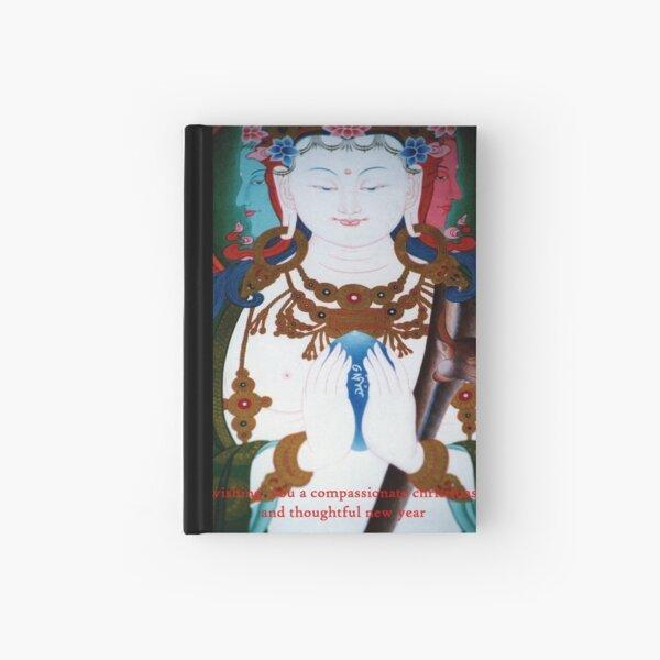 buddhas christmas Hardcover Journal