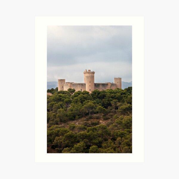 Castillo de Bellver  Art Print