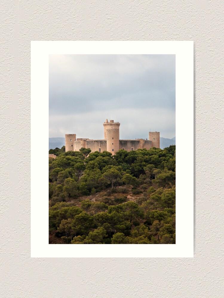 Alternate view of Castillo de Bellver  Art Print
