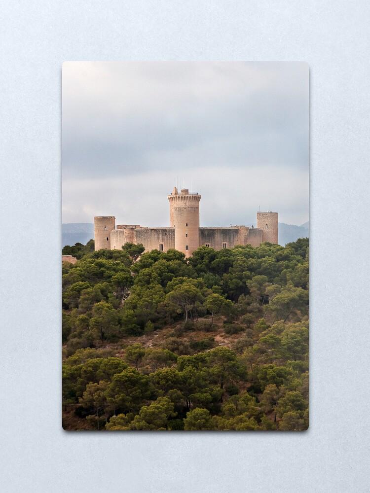 Alternate view of Castillo de Bellver  Metal Print