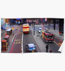 Toy Town London Poster
