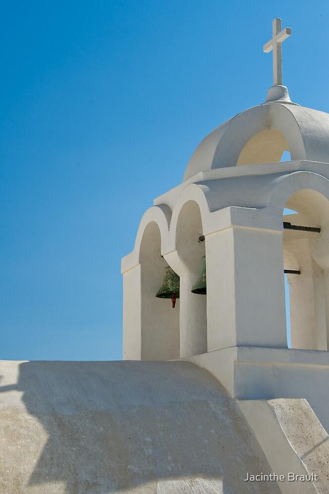 Santorini's Rooftops 3 by Jacinthe Brault