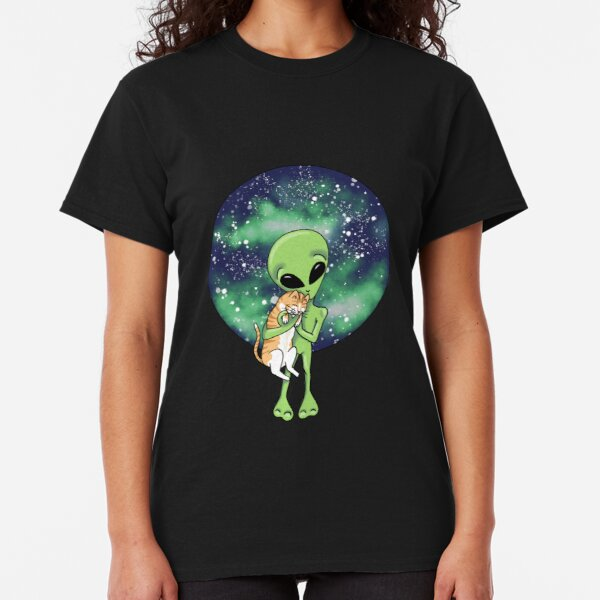 Ali and the Cat by Silvana Arias Classic T-Shirt