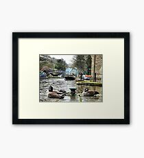 Rochdale canal  Framed Print