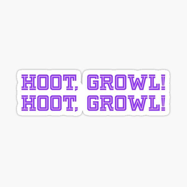 Dimension20: Fantasy High! HOOT GROWL Sticker Sticker