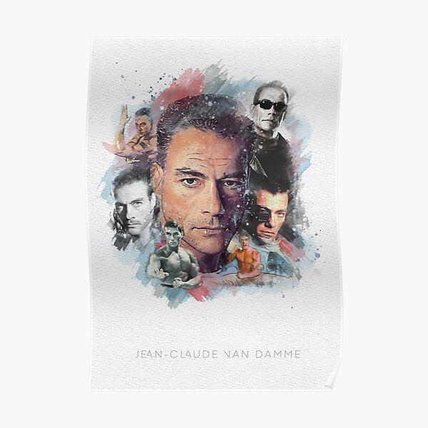 Jean Claude Van Damme, affiche de décoration d'intérieur, affiche de film Poster