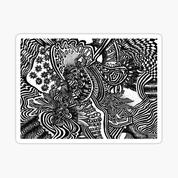 Abstract Ideas Sticker