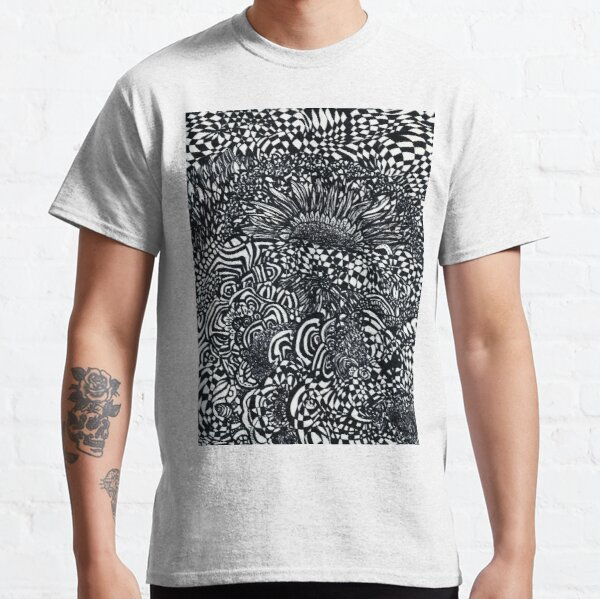 Abstract Sunflowers Classic T-Shirt