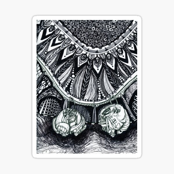 Necklace Sticker
