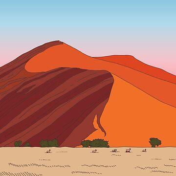 Desert Dunes by dukeofgarbanzo
