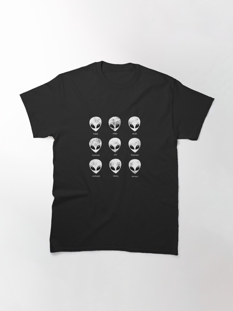 Alternate view of Alien Moods by Silvana Arias Classic T-Shirt