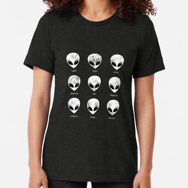 Alien Moods by Silvana Arias Tri-blend T-Shirt