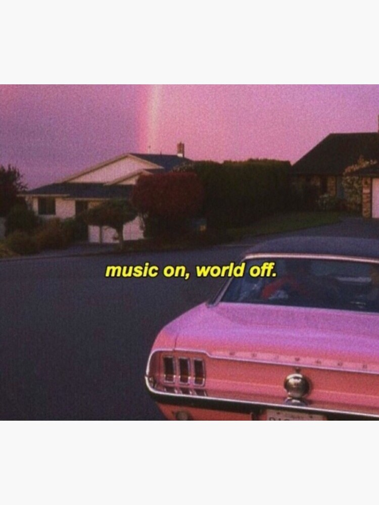 music on world off aesthetic by beccacupcake