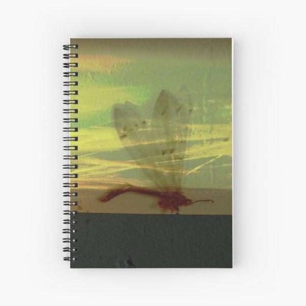 Libellule sur route - photo  Cahier à spirale