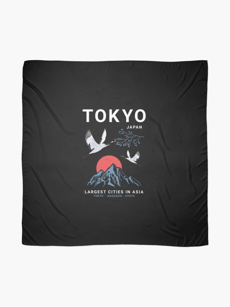 Alternate view of Tokyo - I don't speak Japanese White Version  Scarf