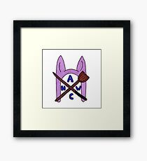 Animal Hat Witch Coven Official Logo Framed Print