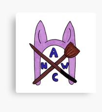 Animal Hat Witch Coven Official Logo Canvas Print