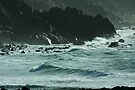 Surf at Kennack Sands by SWEEPER