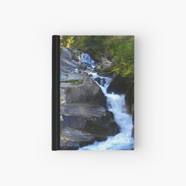 Falls in Mount Rainier Park Hardcover Journal