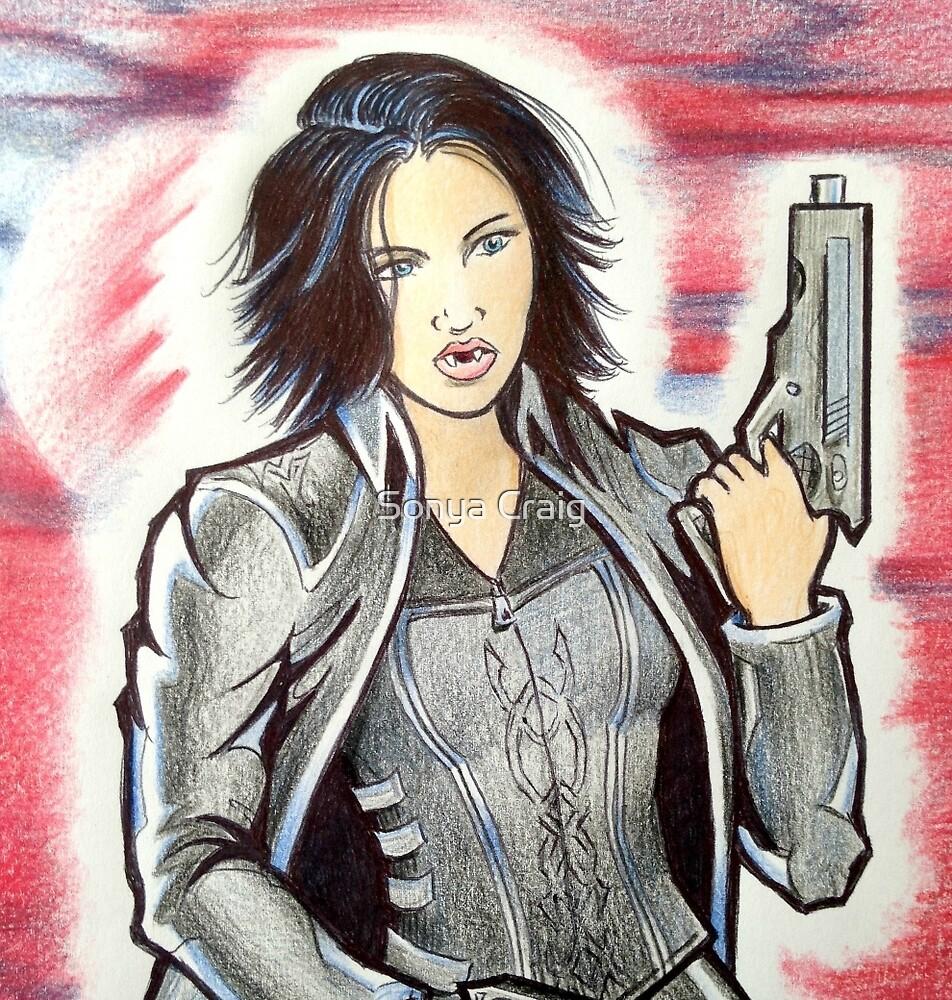 Kickbutt Vampire by Sonya Craig