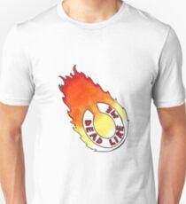 Dead Like Me - Flaming Toilet Seat Unisex T-Shirt