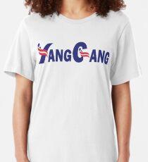 Yang Gang Logo | Andrew Yang 2020 Slim Fit T-Shirt