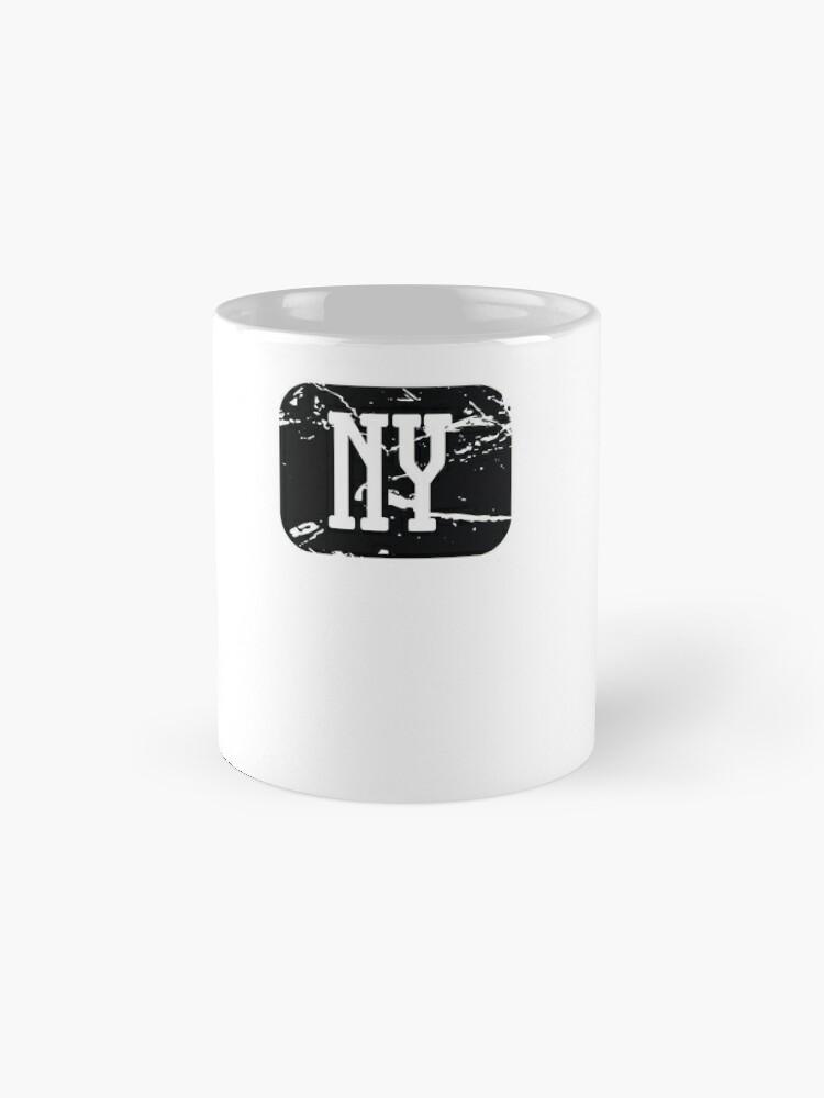 Alternative Ansicht von Dunkirk New York NY Vintage Style Faded Tee from Hometown Tees Tasse
