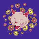 Laughing Cat by SusanSanford