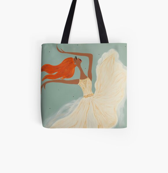 Cicely All Over Print Tote Bag