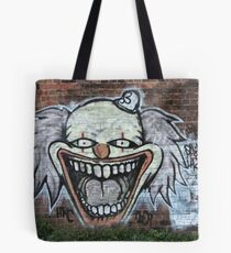 The Clown Of Graffiti Tote Bag