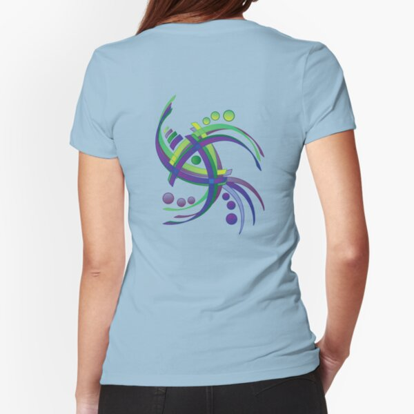 in motion Fitted T-Shirt