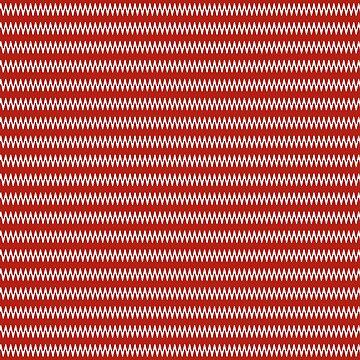 Zickzack-Streifen-modernes rotes Weiß von PageDesigns