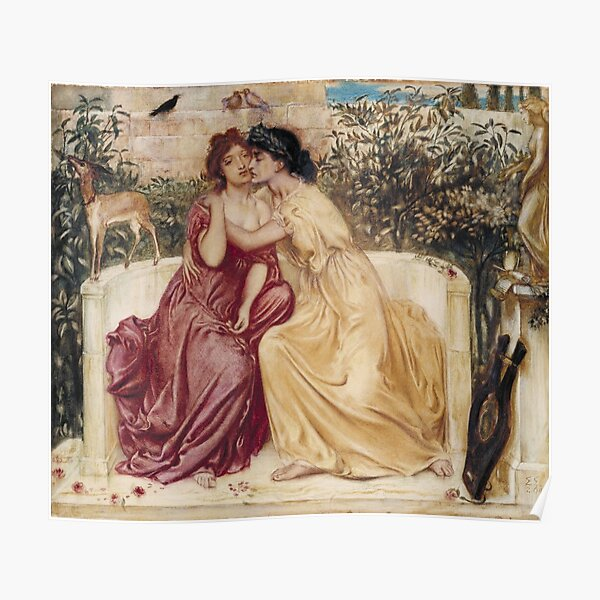 Sappho and Erinna  Poster