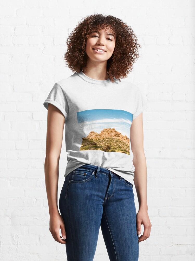 Alternate view of Big Rock Joshua Tree 7404 Classic T-Shirt