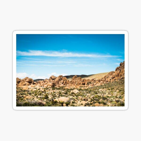 Big Rock Joshua Tree 7406 Sticker