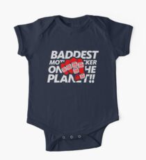 Limited Edition Baddest Mf'er On The Plant Tom Brady, New England Patriots 6 Rings, Tb12 Shirts, Mugs & Hoodies Short Sleeve Baby One-Piece