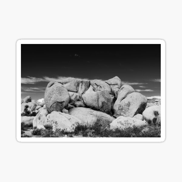 Big Rock Joshua Tree 7407 Sticker