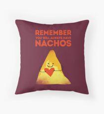 Nacho Love Throw Pillow