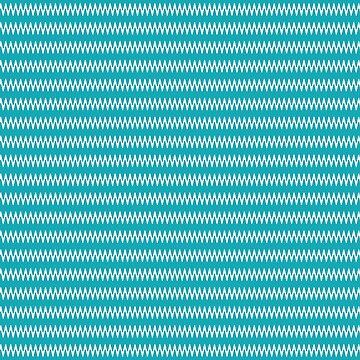 Zick-Zack-StreifenTürkisweiß von PageDesigns