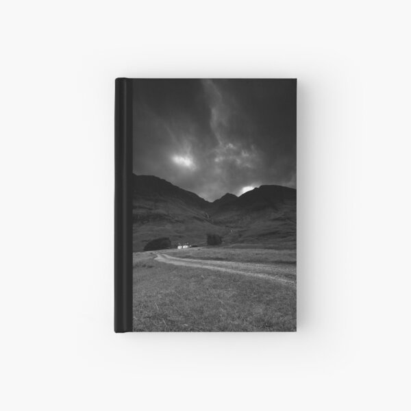 Twin cottages Hardcover Journal