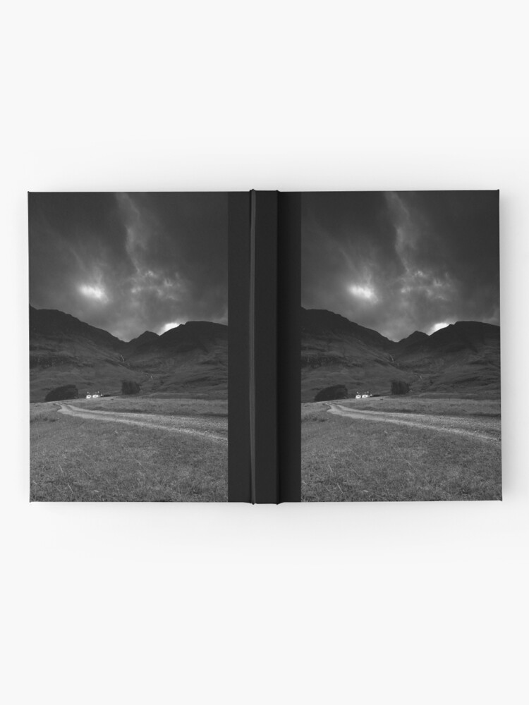 Alternate view of Twin cottages Hardcover Journal