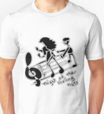night of the living notes  T-Shirt
