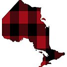 Ontario in Red Plaid by Sun Dog Montana