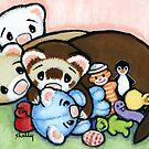 Toy Hog by Shelly  Mundel