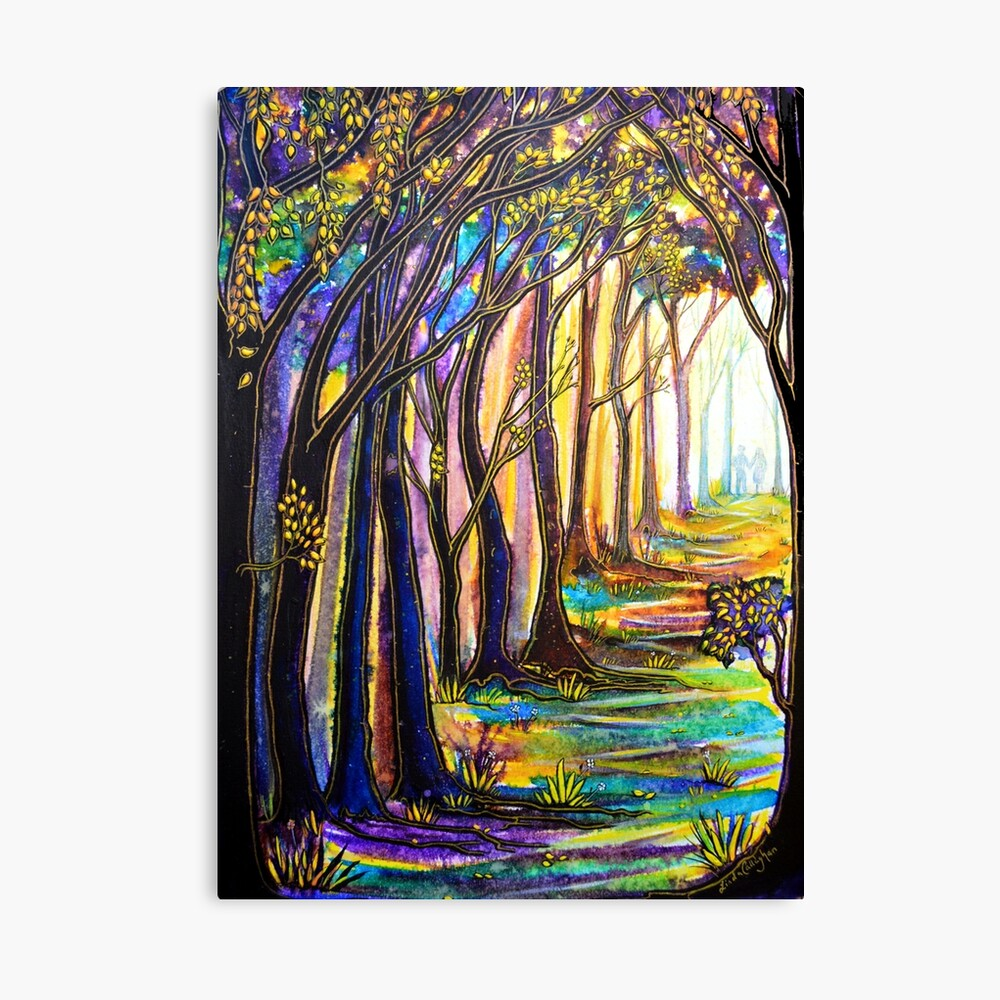 Trees - You Colour My World Canvas Print