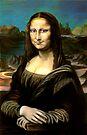 My pastel painting of Mona Lisa - people - ED01 by Elisabeth Dubois