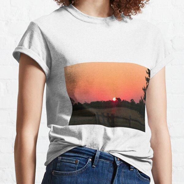 Sunset Among The Vines, McLaren Vale, South Australia Classic T-Shirt