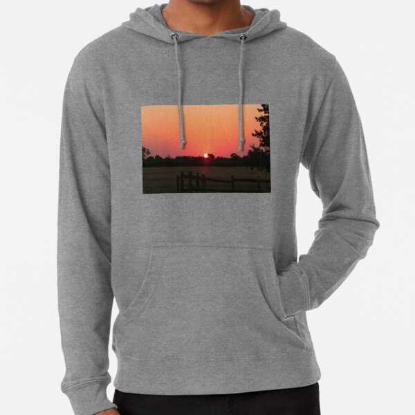 Sunset Among The Vines, McLaren Vale, South Australia Lightweight Hoodie