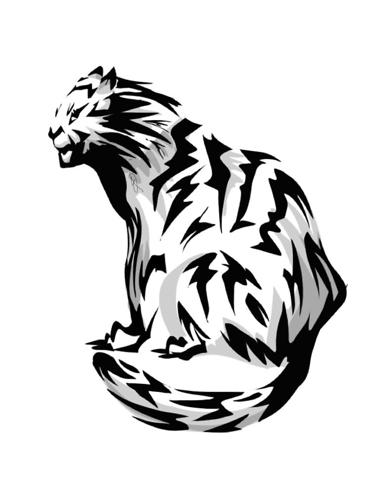 Tiger by Emdaydraws
