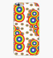 simple rainbow iPhone Case